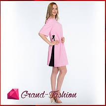 """ПЛАТЬЕ """"Granta"""" - цвет розовый, фото 3"""