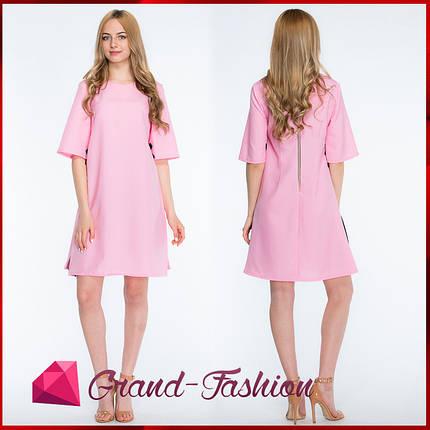 """ПЛАТЬЕ """"Granta"""" - цвет розовый, фото 2"""