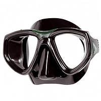 Маска для плавания Seac Sub One; чёрно-зелёная сик саб ван
