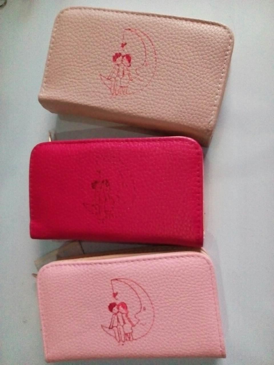 Женский кошелек с  рисунком