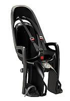 Велокресло детское Hamax Zenith на багажник серое/чёрное