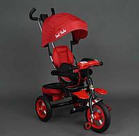Велосипед с ручкой красный Best Trike