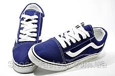 Кеды унисекс, Blue\White, фото 3