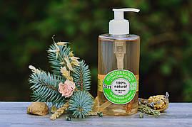 Шампунь-бальзам для відновлення волосся з протеїнами пшениці і ефірними маслами 350мл.