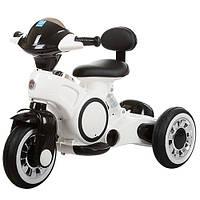 Детский мотоцикл M 3296 L-1, подсветка корпуса, белый