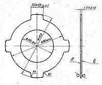Фрикционный диск 16К20.020.486 (внешний)