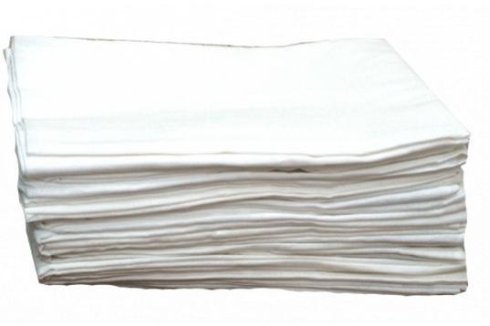 """Простынь белая полуторная 150 х 205 см. (Плотность 120 гр./м2) - """"Jul-Tex"""" интернет-магазин оптово-розничной торговли текстильными товарами от производителя! в Хмельницком"""