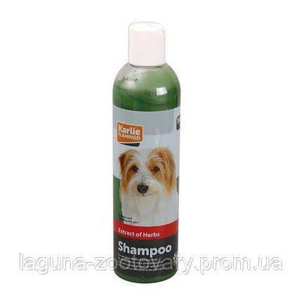 Karlie-Flamingo Herbal Shampoo КАРЛИ-ФЛАМИНГО ХЕРБАЛ травяной шампунь для собак, для ухода за жирной шерстью, фото 2