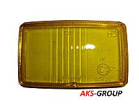 Стекло на фару дальнего света 138Х78 мм Wesem HM1 желтое HSJ/005 HM1 HR