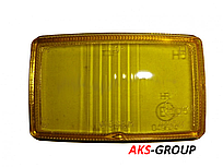 Стекло на фару дальнего света Wesem HM1 138Х78 мм желтое HSJ/005 HM1 HR