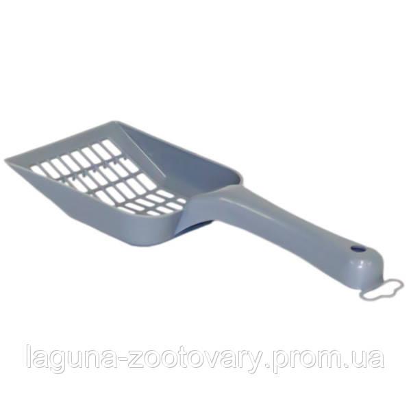 Moderna МОДЕРНА СКУППИ лопатка для наполнителя, 26Х10 см, черничный
