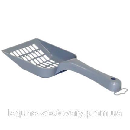 Moderna МОДЕРНА СКУППИ лопатка для наполнителя, 26Х10 см, черничный, фото 2