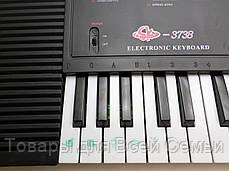 Детское пианино синтезатор SK 3738, 37 клавиш, микрофон, запись и воспроизведение, фото 3