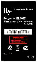 Аккумулятор FLY BL4007, DS123, 1700 mAh, Original/АКБ/Батарея/Батарейка/Флай