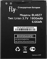 Аккумулятор FLY BL4027, IQ4410, 1800 mAh, Original/АКБ/Батарея/Батарейка/Флай