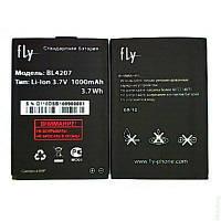 Аккумулятор FLY BL4207, Q100, 1000 mAh, Original/АКБ/Батарея/Батарейка/Флай