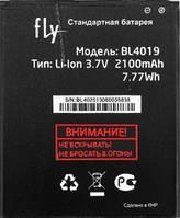 Аккумулятор FLY BL4019, IQ446, 2100 mAh, Original/АКБ/Батарея/Батарейка/Флай