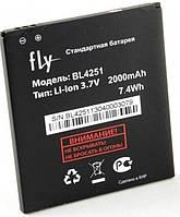 Аккумулятор FLY BL4251, IQ450, 2000 mAh, Original/АКБ/Батарея/Батарейка/Флай