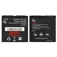 Аккумулятор FLY BL6408, IQ239, 1100 mAh, Original/АКБ/Батарея/Батарейка/Флай