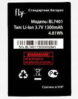 Аккумулятор FLY BL7401, IQ238, 1300 mAh, Original/АКБ/Батарея/Батарейка/Флай
