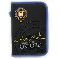 Пенал книжка Oxford black 2 отворота