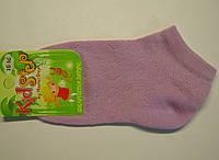 Тонкие летние носки в сетку сиреневого цвета для девочек, фото 1