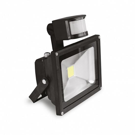 Світлодіодний прожектор EUROELECTRIC COB з датчиком руху 10W 6500K