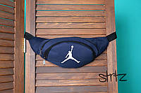 Спортивная сумка на пояс,бананка джордан,Jordan