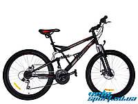 """Горный двухподвесный велосипед Azimut Rock 26"""" D+"""