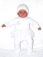 Детский комплект для девочки *Малютка* (3 предмета)