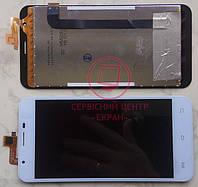 Oukitel U7 Pro дисплей модуль тачскрін сенсор білий оригінальний