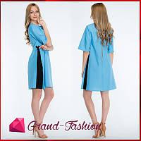 """Платье  """"Granta"""" - цвет голубой, фото 1"""