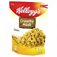 Мюсли овсяные Kelloggs Crunchy Müsli Classic, 500г