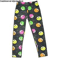 Детские брюки для девочки *Лосины цветные-1*