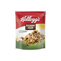 Мюсли овсяные Kelloggs Crunchy Müsli Frucht с фруктами, 500г