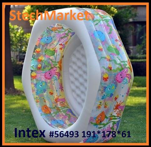 Надувной бассейн Детский Intex 56493 191x178x61см