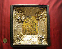 Старинная икона Божья Матерь