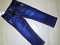 Классические синие джинсы для девочек от  4-12ти лет