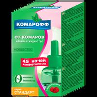 """Жидкость для электрофумигатора """"Комарофф Стандарт"""" 45 ночей"""