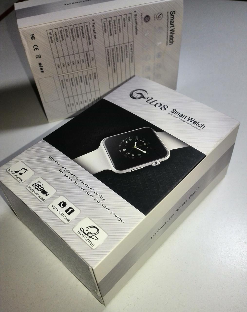 Smart Watch GU08 (аналог Apple Watch)