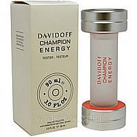 Мужская туалетная вода Davidoff Champion Energy (Давидов Чемпион Энерджи)  (тестер без крышечки) DIZ /0-031