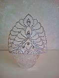 Корона, диадема для конкурса, высота 13 см., фото 3