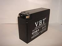 "Гелевый Мото аккумулятор VBT GT4B-5 ""ТАБЛЕТКА"" (12V 4Ah) на мопед, скутер или мотоцикл"