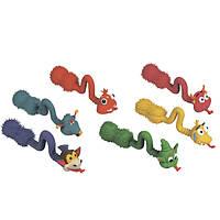 Karlie-Flamingo (КАРЛИ-ФЛАМИНГО) POP-UP TONGUE игрушки для собак зверушки с языком, латекс