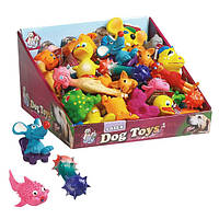 Karlie-Flamingo JOYTOYS зверек игрушка для собак в ассортименте, латекс, 6-7см