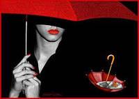 Зонт женский полуавтомат оптом
