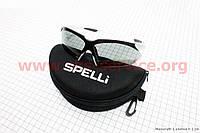 Очки серые + набор для ухода, в чехле жестком SGL-943