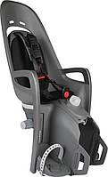 Велокресло детское Hamax Zenith Relax на багажник серое/чёрное