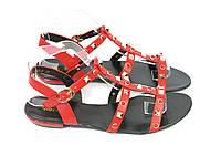 Красные босоножки Backate 709-2 RED 36 23 см, фото 1