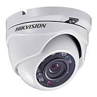 Купольная камера видеонаблюдения Hikvision 2.0 Мп Turbo HD DS-2CE56D0T-IRMF (2.8 мм)